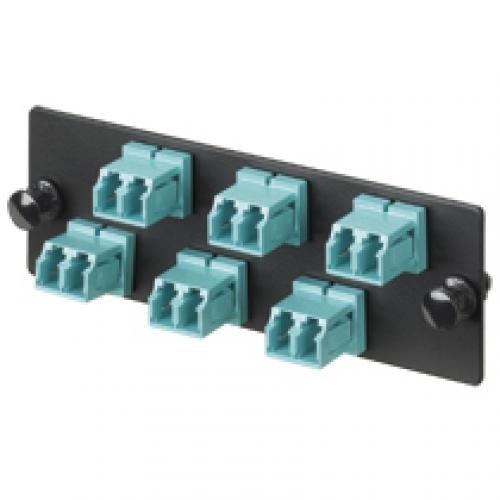 Panduit Fiber Adapter Panel for FWME 12 LC-duplex Adapters cod. FAP12WBUDLCZ