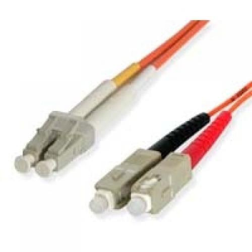 StarTech.com Cavo patch duplex in fibra multimodale 62,5/125 1 m LC - SC cod. FIBLCSC1