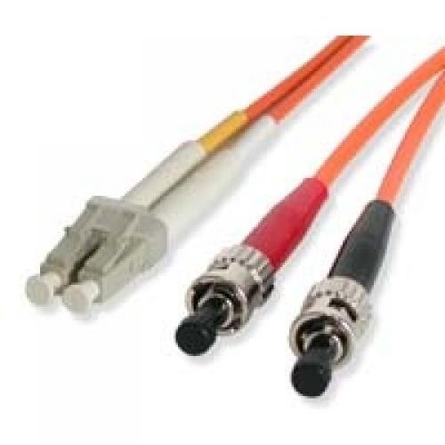 StarTech.com Cavo patch duplex in fibra multimodale 62,5/125 2 m LC - ST cod. FIBLCST2