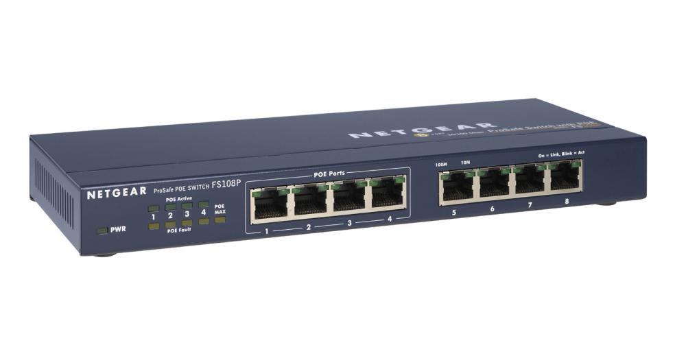 Netgear FS108P - FS108PEU