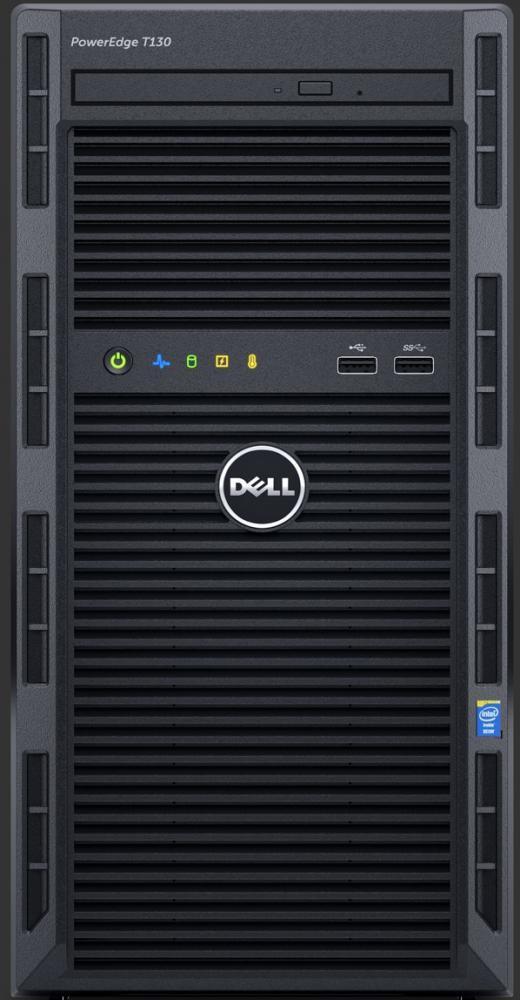 DELL PowerEdge T130 server 3 GHz Intel® Xeon® E3 v6 E3-1220 v6 Mini Tower 290 W cod. FYH48
