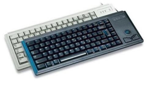 Cherry G84-4400 USB QZERTY Inglese US Grigio tastiera cod. G84-4400LUBUS-0