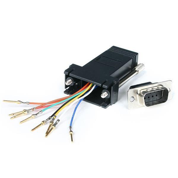StarTech.com Adattatore modulare da DB9 a RJ45 - M/F cod. GC98MF