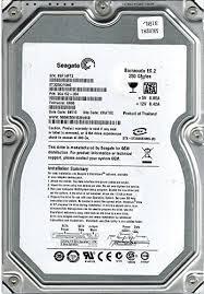 Seagate 250 GB 3G 7.2K 3.5 inch SATA - ST3250310NS-RFB