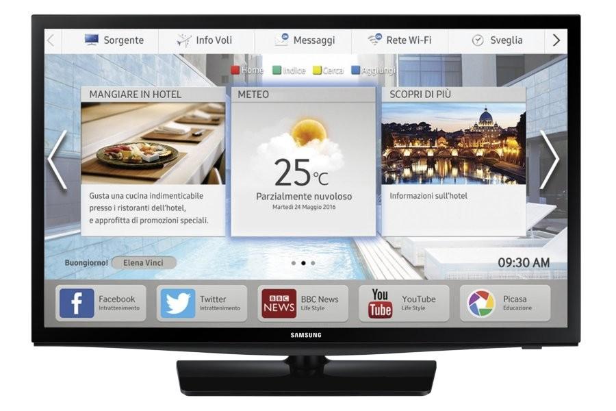 "Samsung HG28EE470AKXZT TV Hospitality 71,1 cm (28"") HD Nero 10 W cod. HG28EE470AKXZT"