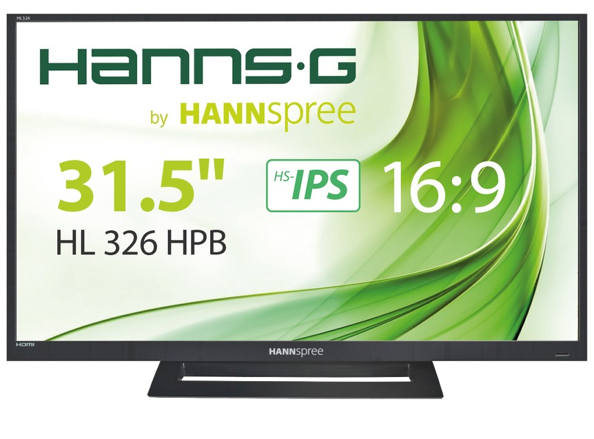 "Hannspree Hanns.G HL 326 HPB LED display 81,3 cm (32"") Full HD LCD Nero cod. HL326HPB"