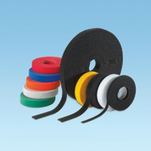 Panduit Hook & Loop Cable Tie, 15' roll, Black fascetta Nylon Nero cod. HLS-15R0
