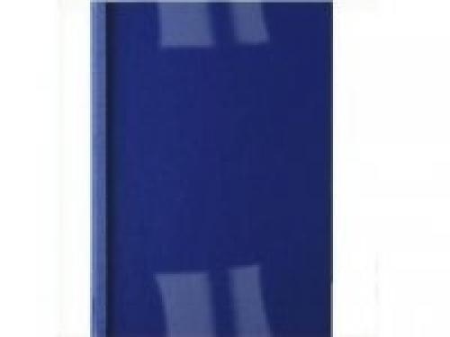 GBC Copertine rilegatura termica LeatherGrain 4mm blu royal(100) cod. IB451027