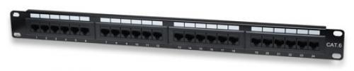 Intellinet I-PP 24-RU-C6Pannello Patch UTP 24 posti RJ45 cat. 6 - I-PP 24-RU-C6