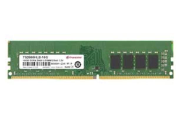 Transcend JetRam JM2666HLE-16G memoria 16 GB 1 x 16 GB DDR4 2666 MHz cod. JM2666HLE-16G