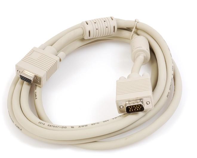 Kraun 3m VGA cavo VGA VGA (D-Sub) Bianco cod. KB.14