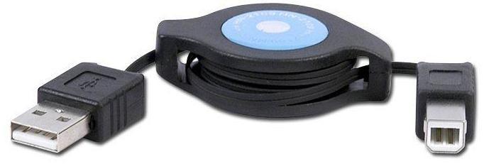 Kraun KR.4A cavo USB 1,2 m USB A USB B Nero cod. KR.4A