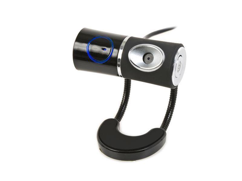 Kraun Moblie Style webcam 1,3 MP 640 x 480 Pixel USB 2.0 Nero, Argento cod. KR.4W