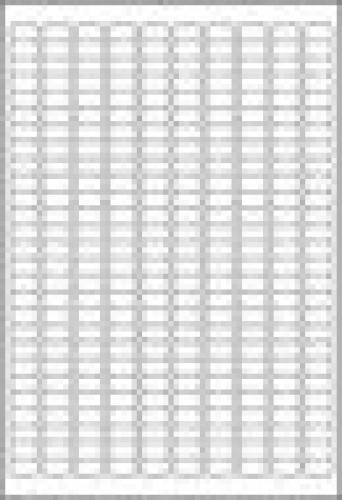 Avery L4730REV-25 etichetta per stampante Bianco Etichetta per stampante autoadesiva cod. L4730REV-25