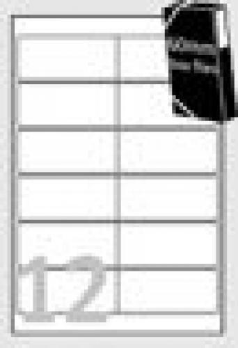 Avery Etichette rimovibili - 99,1 x 42,3 mm cod. L4743REV-25