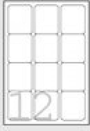 Avery L7164-100 etichetta per corrispondenza Bianco Etichetta autoadesiva cod. L7164-100