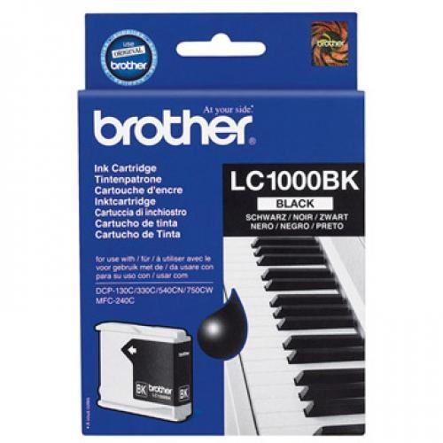 Brother LC-1000BK cartuccia d'inchiostro Original Nero 1 pezzo(i) cod. LC-1000BK