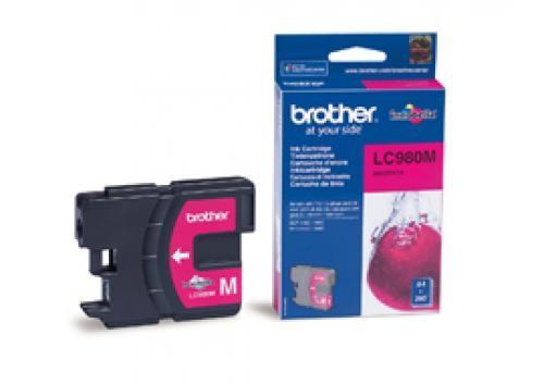 Brother LC-980MBP cartuccia d'inchiostro Original Magenta cod. LC-980MBP
