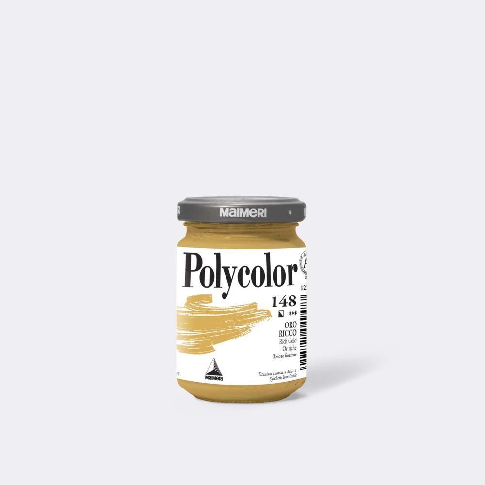Maimeri M1220148 pittura Oro 140 ml Vasetto di vetro cod. M1220148