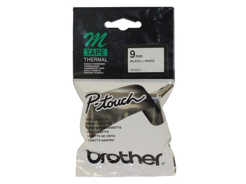 Brother MK221 nastro per etichettatrice Nero su bianco M cod. MK221