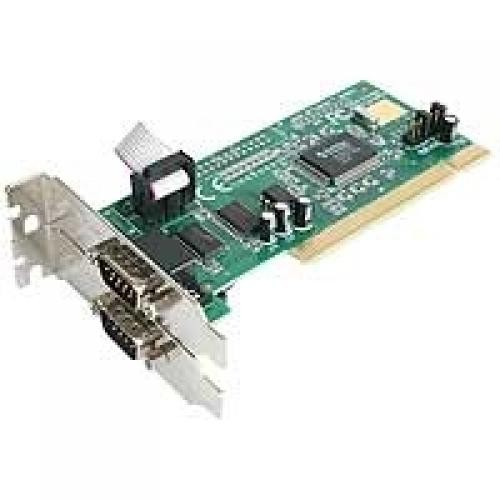 StarTech.com Scheda seriale PCI RS232 a 2 porta con 16550 UART cod. PCI2S550_LP