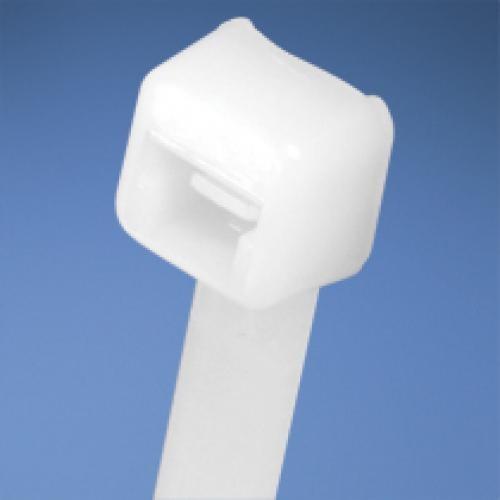 "Panduit Cable Tie, 8.0""L (203mm), Intermediate, Nylon, Natural, 100pc fascetta cod. PLT2I-C"