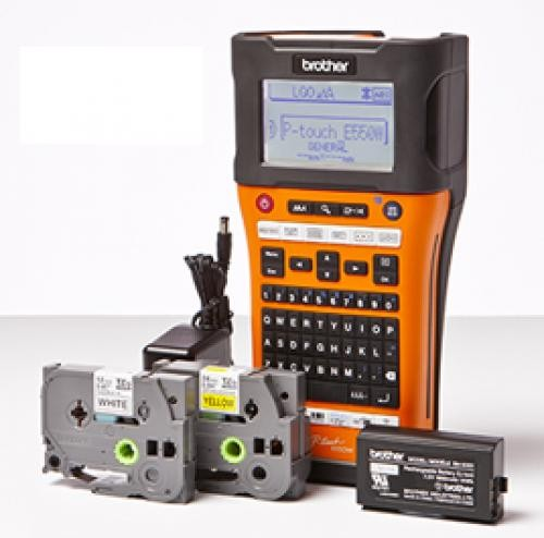 Brother PT-E550WVP stampante per etichette (CD) 180 x 180 DPI Con cavo e senza cavo cod. PT-E550WVP