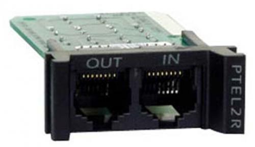 APC Surge Module for Analog Phone Line protezione da sovraccarico Nero cod. PTEL2R