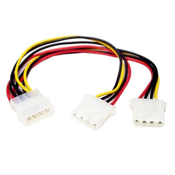 StarTech.com Cavo splitter Y alimentazione LP4 a 2x LP4 M/F cod. PYO2L