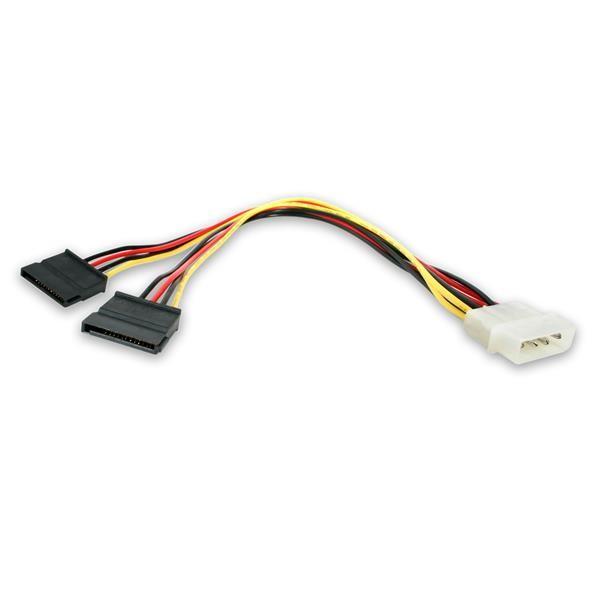 StarTech.com Cavo adattatore LP4 di alimentazione a Y, 2 x SATA, 30 cm cod. PYO2LP4SATA