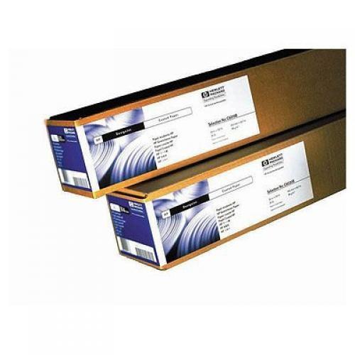 HP Coated Paper-594 mm x 45.7 m (23.39 in x 150 ft) - Q1442A