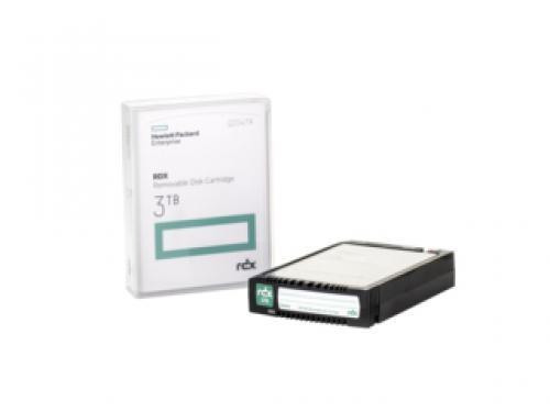 Hewlett Packard Enterprise RDX 3TB Removable Disk Cartridge 3000GB RDX cod. Q2047A