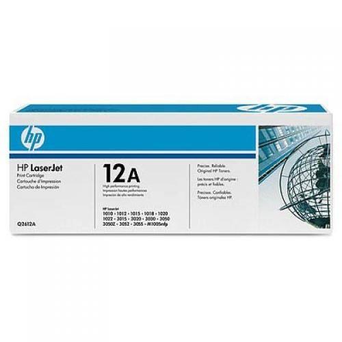 HP 12A Original Nero 2 pezzo(i) cod. Q2612AD