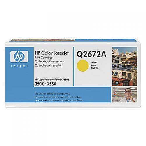 HP 309A Original Giallo 1 pezzo(i) cod. Q2672A