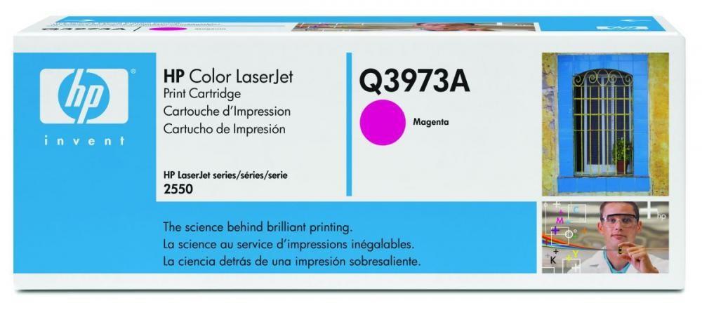 HP Color LaserJet Q3973A Magenta Print Cartridge - Q3973A