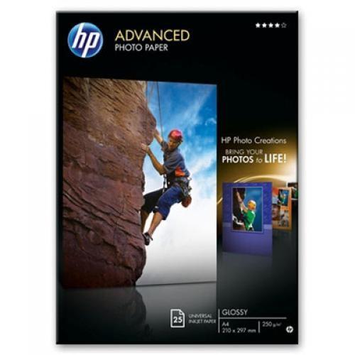 HP Q5456A carta fotografica Nero, Blu, Bianco Lucida A4 cod. Q5456A