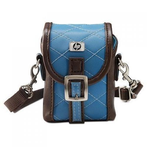 HP Q6230A custodia per fotocamera Custodia a sacchetto Blu, Marrone cod. Q6230A