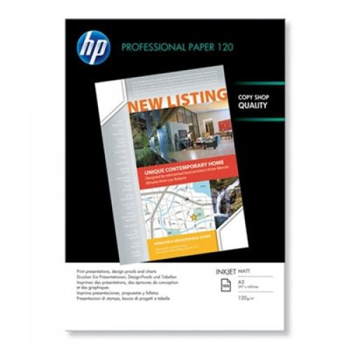 HP Q6594A carta inkjet A3 (297x420 mm) Opaco Bianco cod. Q6594A