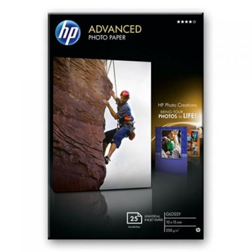 HP Advanced Glossy carta fotografica Bianco Lucida cod. Q8691A