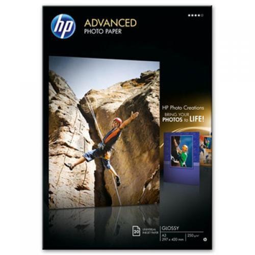 HP Q8697A carta fotografica Molto lucida A3 cod. Q8697A