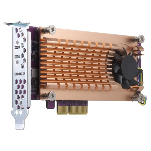 QNAP QM2 scheda di interfaccia e adattatore M.2 Interno cod. QM2-2P-384