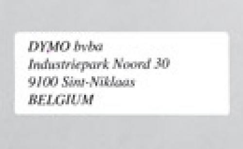 DYMO Etichette indirizzo grandi cod. S0722400