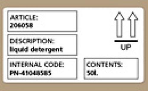 DYMO Etichette di spedizione/badge nominativi cod. S0722420