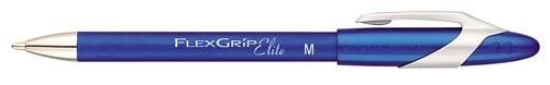 Papermate Ballpen PM Flexgrip Elite, Blue, 12 Blu Clip-on retractable ballpoint pen Vivido 12 pezzo(i) cod. S0767610