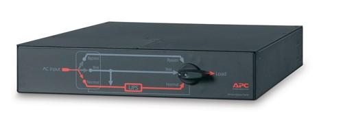 APC APC Service Bypass Panel- 230V, 50A, MBB, Hardwire input, (4) IEC-320 C19 Output - SBP6KRMI2U