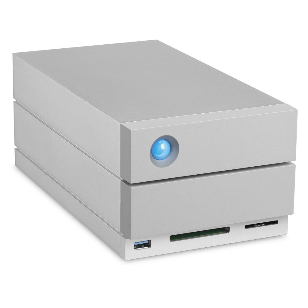 LaCie 2big Dock Thunderbolt 3 array di dischi 8 TB Scrivania Grigio cod. STGB8000400