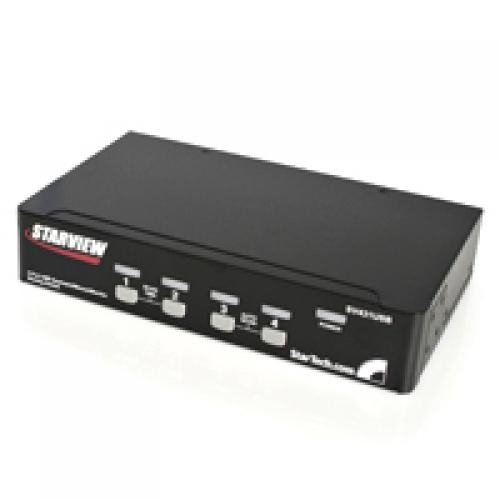 StarTech.com Switch KVM professionale VGA USB a 4 porte con hub cod. SV431USB