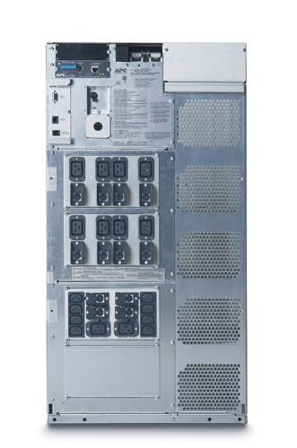 APC Symmetra LX rackmount  8-16kVA 1+3-Faseblack 19U - SYA8K16RMI