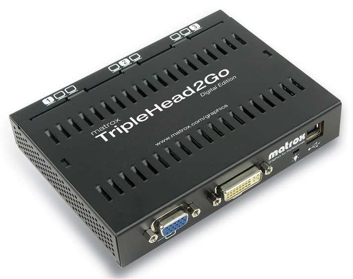Matrox TripleHead2Go Digital Edition cod. T2G-D3D-IF