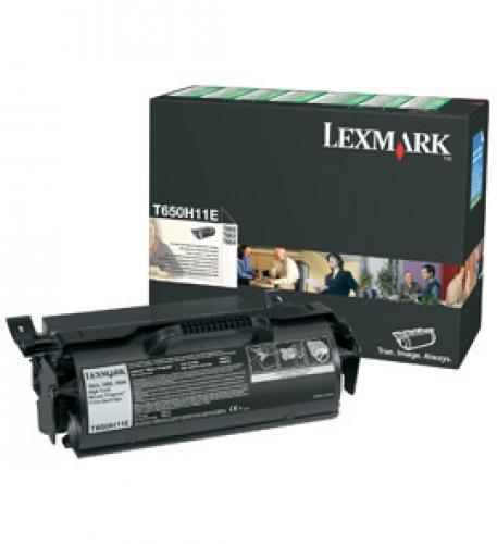 Lexmark T650H11E cartuccia toner Original Nero 1 pezzo(i) cod. T650H11E